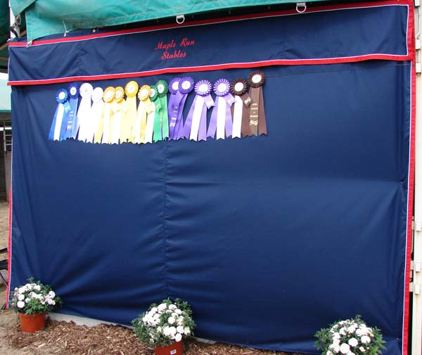 Stall Curtains Valance Sharon S Cozy Horse Creations